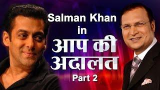 Salman Khan in Aap Ki Adalat (Part 2)