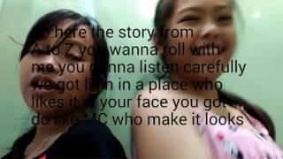 Spice Girls - Wannabe Haschak Sister Cover  (Lyric Video)