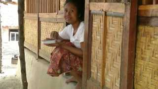 INDONESIA Sade (Sasak), Lombok (hd-video)