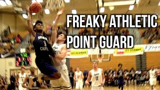 FREAKY ATHLETIC PG Remy Martin Throwing Bullet Dimes To The Paint... Raw Footage Highlights