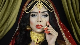BANGLADESHI BRIDAL MAKEUP TUTORIAL - RAISA NAUSHIN