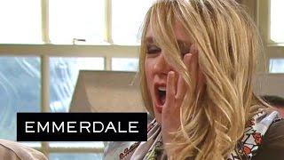 Emmerdale - Chrissie Slaps Rebecca And Rebecca Slaps Her Back!