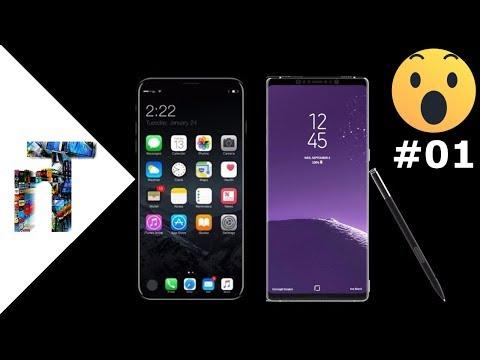 Reaktion auf Note 8/iPhone 8   TEC-REACT [01]