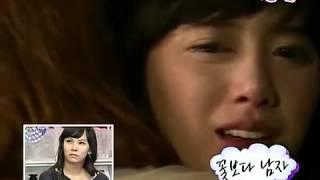 Reacción de Kim Hyung Joon al ver su escena de beso