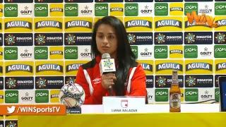 Rueda de prensa de la final vuelta de la Liga Femenina Aguila