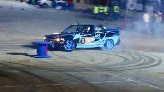 Abdullah Abu Hussein Red Bull Car Park Drift Jordan - 1JZ BMW E30