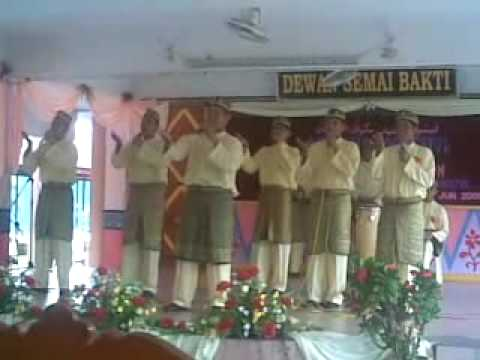 SMK BATU MUDA NAIB JOHAN PERTANDINGAN NASYID MAAL HIJRAH ZON SENTUL 2009 1