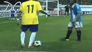 Neymar 2012 Super Football Skills Brasil Vs Argentina