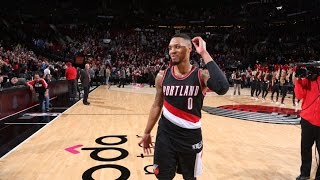 Damian Lillard Best Plays: 2017 NBA Season