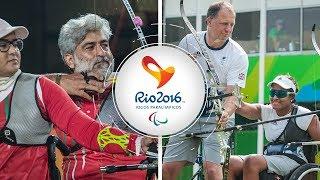 Ir Iran v Great Britain – recurve mixed team quarterfinal   Rio 2016 Paralympics