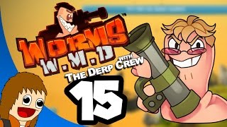 Worms W.M.D.: MLG Pro Worms - Part 15 (w/ The Derp Crew)
