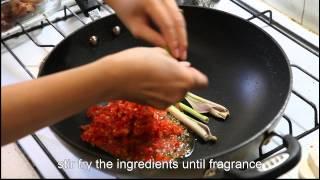 Ayam Rica Rica - Indonesian food
