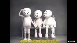 INDEPENDENCE DAY video for Whatsapp Status celebrate with zoozoos