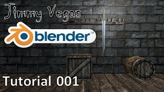 How To Use Blender For Beginners - Tutorial Part 001