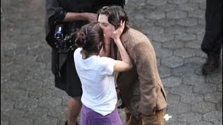Selena Gomez & Timothée Chalamet Kissing In The Rain On Set Of Woody Allen's New Movie 9/26/2017