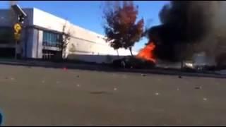PAUL WALKER CRASH SCENE *HD* OFFICIAL