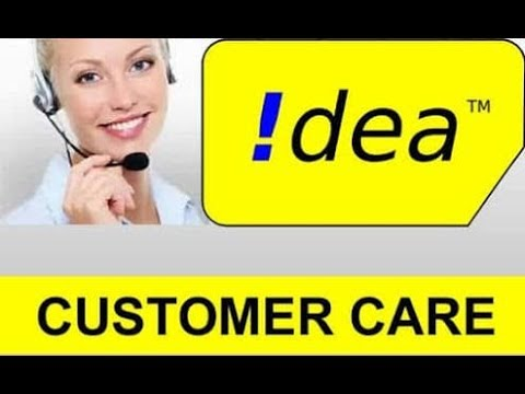 How to idea Customer care number in hindi. any time idea customer care call toll free