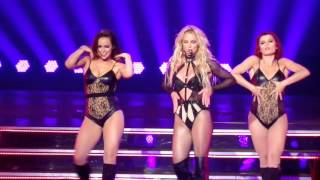 Britney Spears -  I'm a slave 4 U, Freakshow, Do somethin' @ Planet Hollywood - 15 April 2016