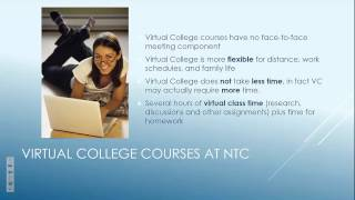 NTC Virtual College Student Readiness Training Learning Plan 1