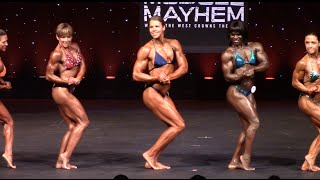 2015 California Natural Muscle Mayhem Women's  Pro Bodybuilding Division