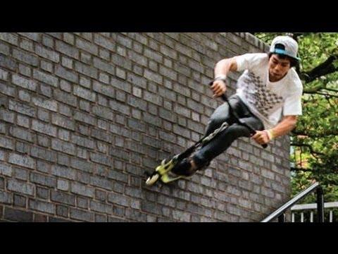 World s Best Street Scooter Tricks