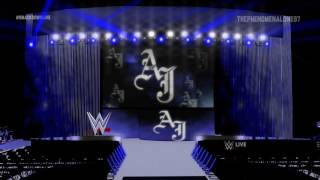 2016: AJ Styles Smackdown Live HD Stage Animation