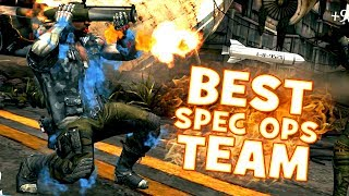 AWESOME SPEC-OPS TEAM in MKX Mobile. YOU WILL NEVER LOSE!
