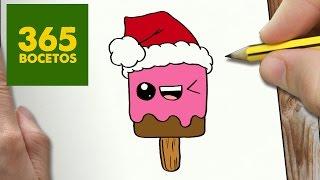 Dibujos kawaii de navidad para dibujar