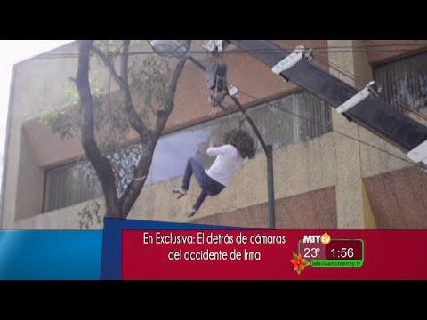 A la Vanguardia El detrás de cámaras del accidente de Irma