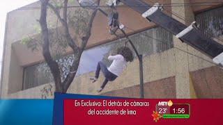 A la Vanguardia - El detrás de cámaras del accidente de Irma