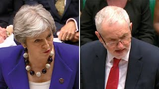 PMQs: May tells Corbyn destruction of Windrush landing cards was Labour