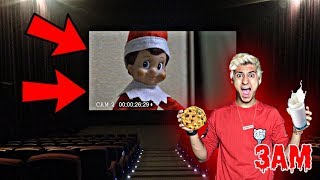 DO NOT WATCH ELF ON THE SHELF MOVIE AT 3AM!! *OMG ELF ON THE SHELF CAME TO MY HOUSE*