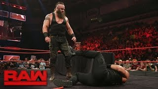 Roman Reigns and Braun Strowman sign their WWE Fastlane contract: Raw, Feb. 27, 2017
