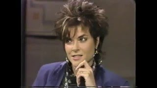 Rosanne Cash on Late Night, May 23, 1985
