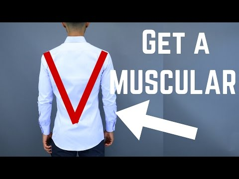 How To Get a Masculine V Shape