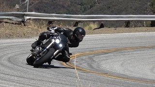 Amazing One Arm Motorcycle Rider - Mulholland Riders