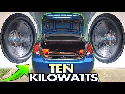 Xxx Mp4 TEN KILOWATTS Of Loud BASS Music EXO S 2 18 Inch Subwoofers 10 000 Watt Car Audio Installation 3gp Sex