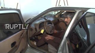 Iran: Iranian scientist takes his water-powered car for a spin