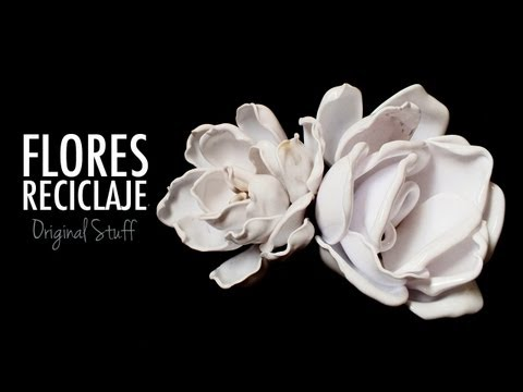 Flor de cucharas Reciclaje Original Stuff