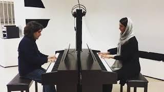 پیانو قسمتي از موسيقي ترانه هاي قديمي