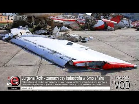 Jurgena Roth zamach czy katastrofa w Smoleńsku