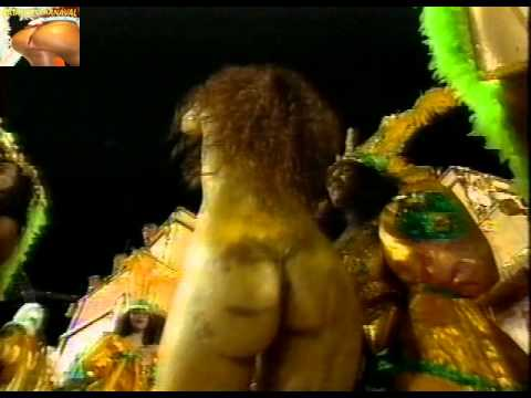 Vídeo túnel do tempo Viviane Araújo Império da Tijuca 1996