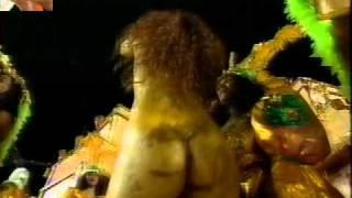 Vídeo túnel do tempo - Viviane Araújo Império da Tijuca 1996