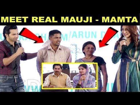 Xxx Mp4 Sui Dhaga Promotions Varun Dhawan And Anushka Sharma Introduces REAL Mauji And Mamta 3gp Sex