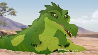 Lion Guard: Makuu's float VS Kiburi's float | The Little Guy HD Clip