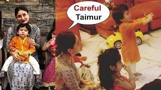 Taimur Ali Khan With Mom Kareena Kapoor At Diwali Play Date