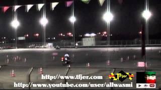 عرض للدراجات الناريه في افتتاح بطولة الدريفت 29-10-2010