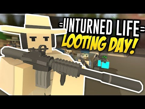 Xxx Mp4 LOOTING DAY Unturned Life Roleplay 307 3gp Sex