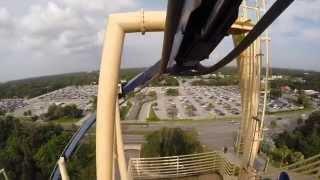 GoPro - Montu rollercoaster - Busch Gardens, Tampa, FL