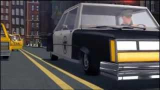 Crtani Caplin Slep auto
